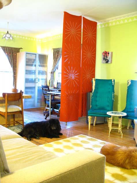 Cortina pra dividir ambientes se fosse na minha casa for Dividir ambientes