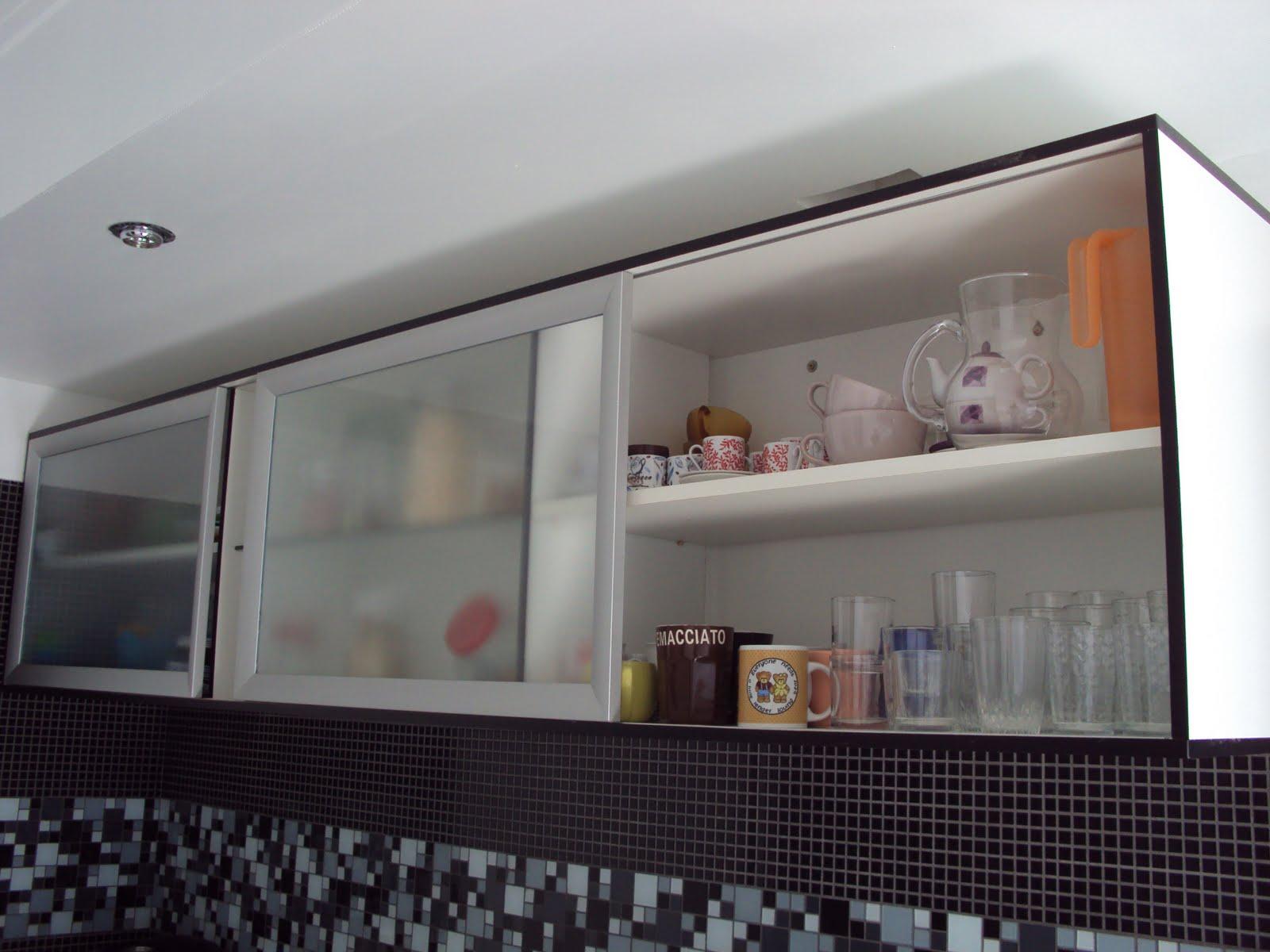 reforma da cozinha  se fosse na minha casa  Página 2 # Armario De Cozinha Feito Por Marceneiro