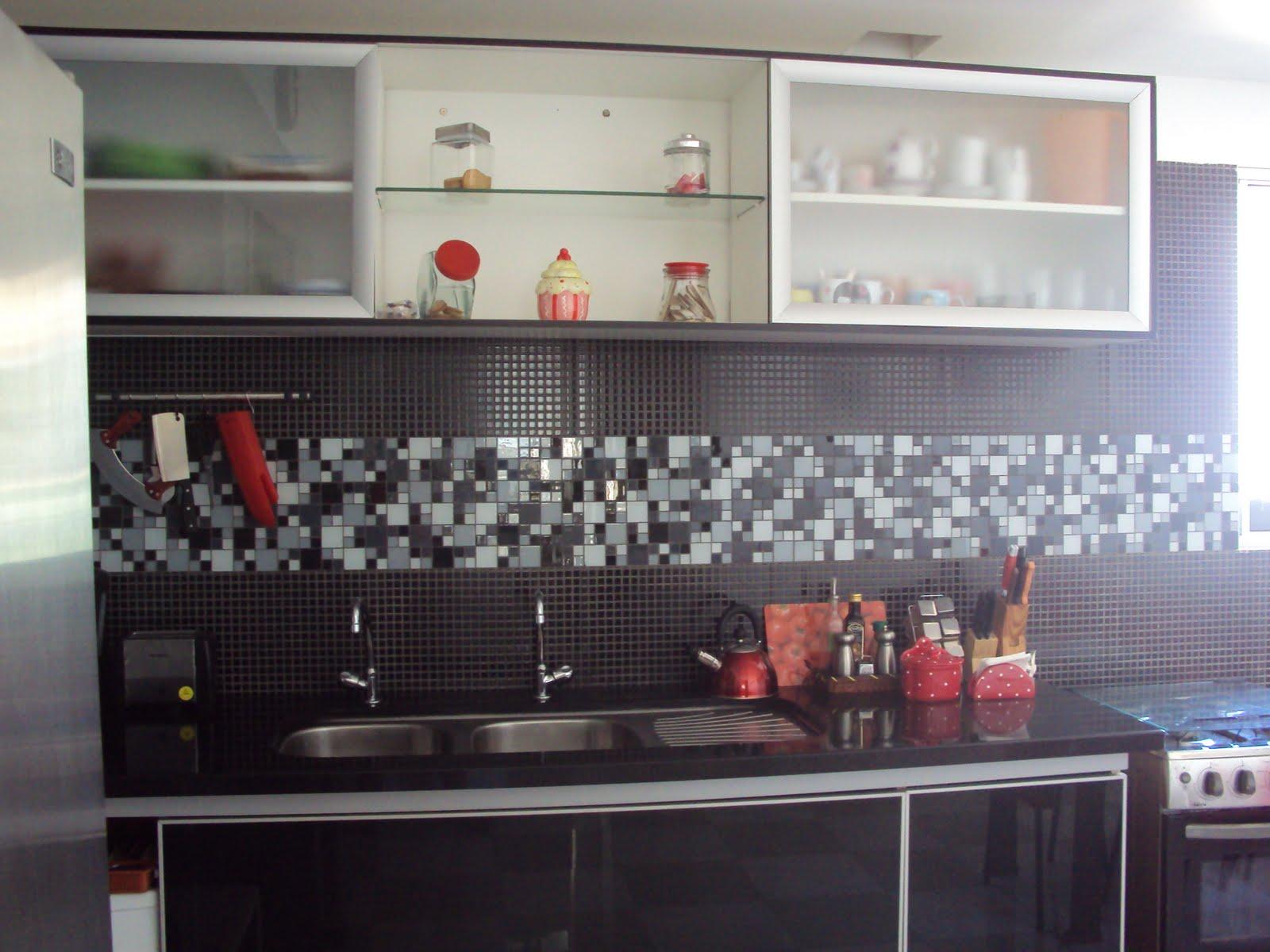 Antes e depois da minha cozinha se fosse na minha casa #7D5B4E 1600 1200