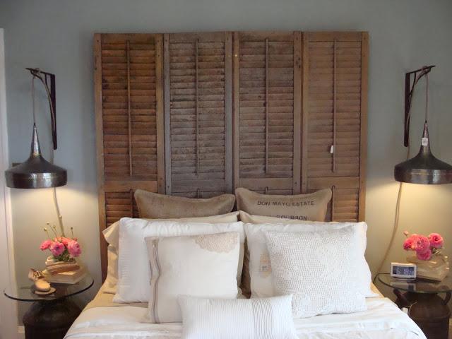 Cabeceiras de camas para espa os pequenos se fosse na minha casa - Decoracion con biombos ...