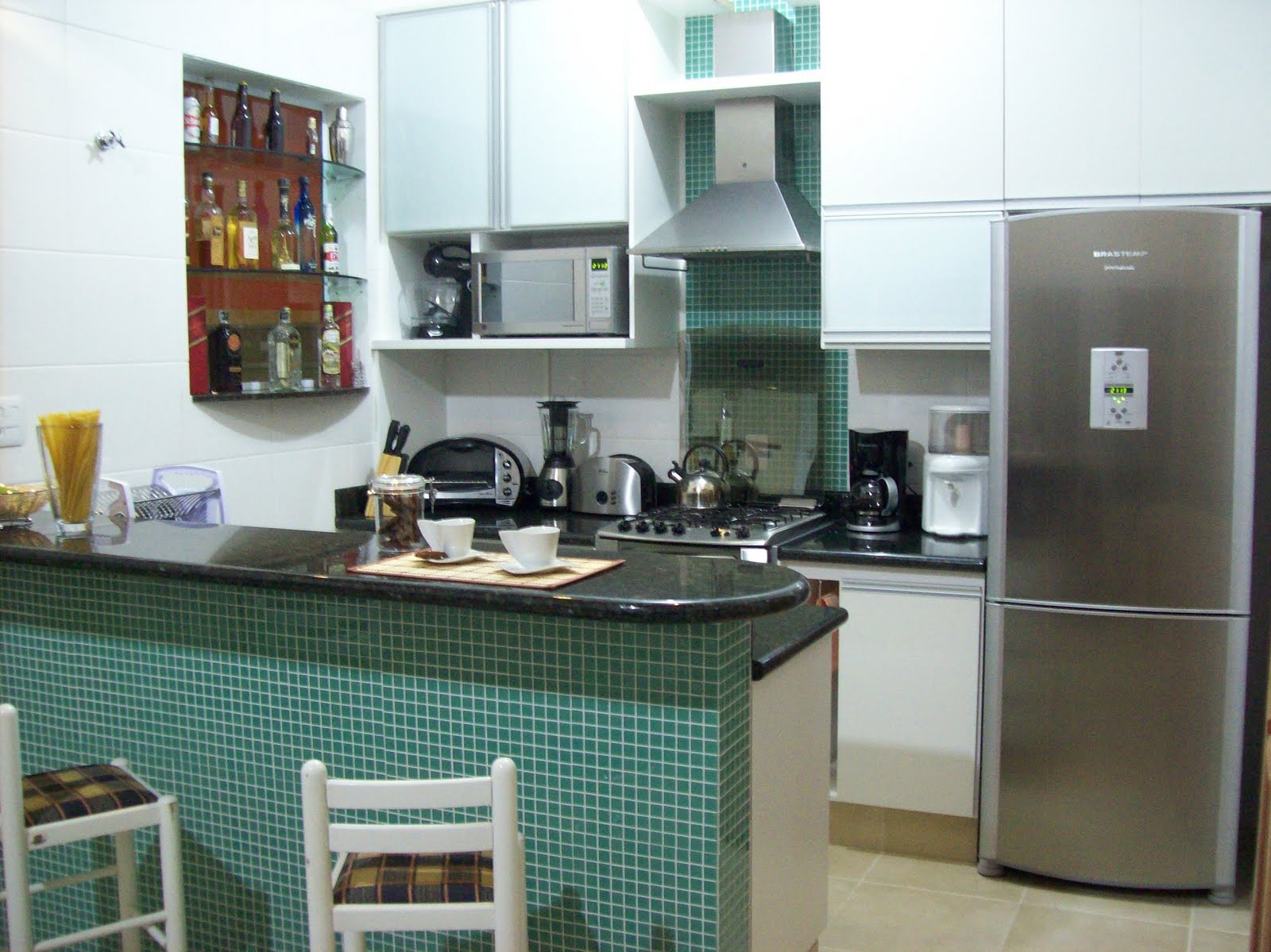 Cozinhas pequenas – Como usar? se fosse na minha casa #644738 1600 1199