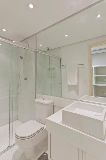 Banheiros pequenos – soluções e ideias  se fosse na minha casa -> Banheiro Pequeno Solucões