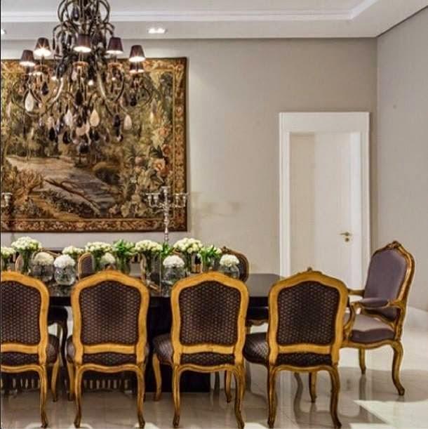 Conjunto De Sala De Jantar Luis Xv ~ Fazem sucesso também em ambientes contemporâneos