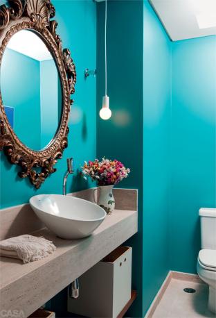 como-decorar-lavabos-pequenos-decoração-lavabos-2