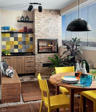Decoração-para-Varanda-Gourmet-de-Apartamento-Pequeno-8