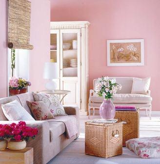 sala-com-sofa-unico-paredes-rosas