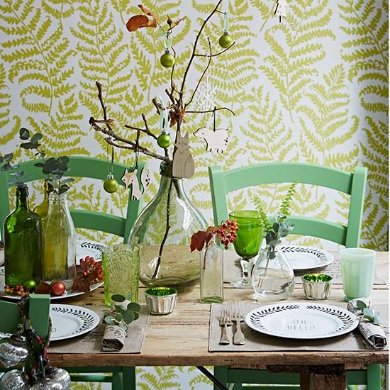 Faltam 60 dias para o natal se fosse na minha casa for Christmas decorating ideas for dining room chairs