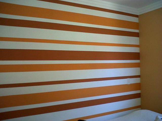 Hoje sexta feira como pintar listras na parede se for Como elegir pintura para casa