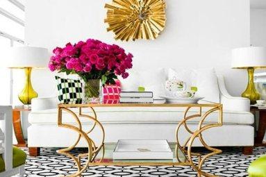 dourado-na-decoração