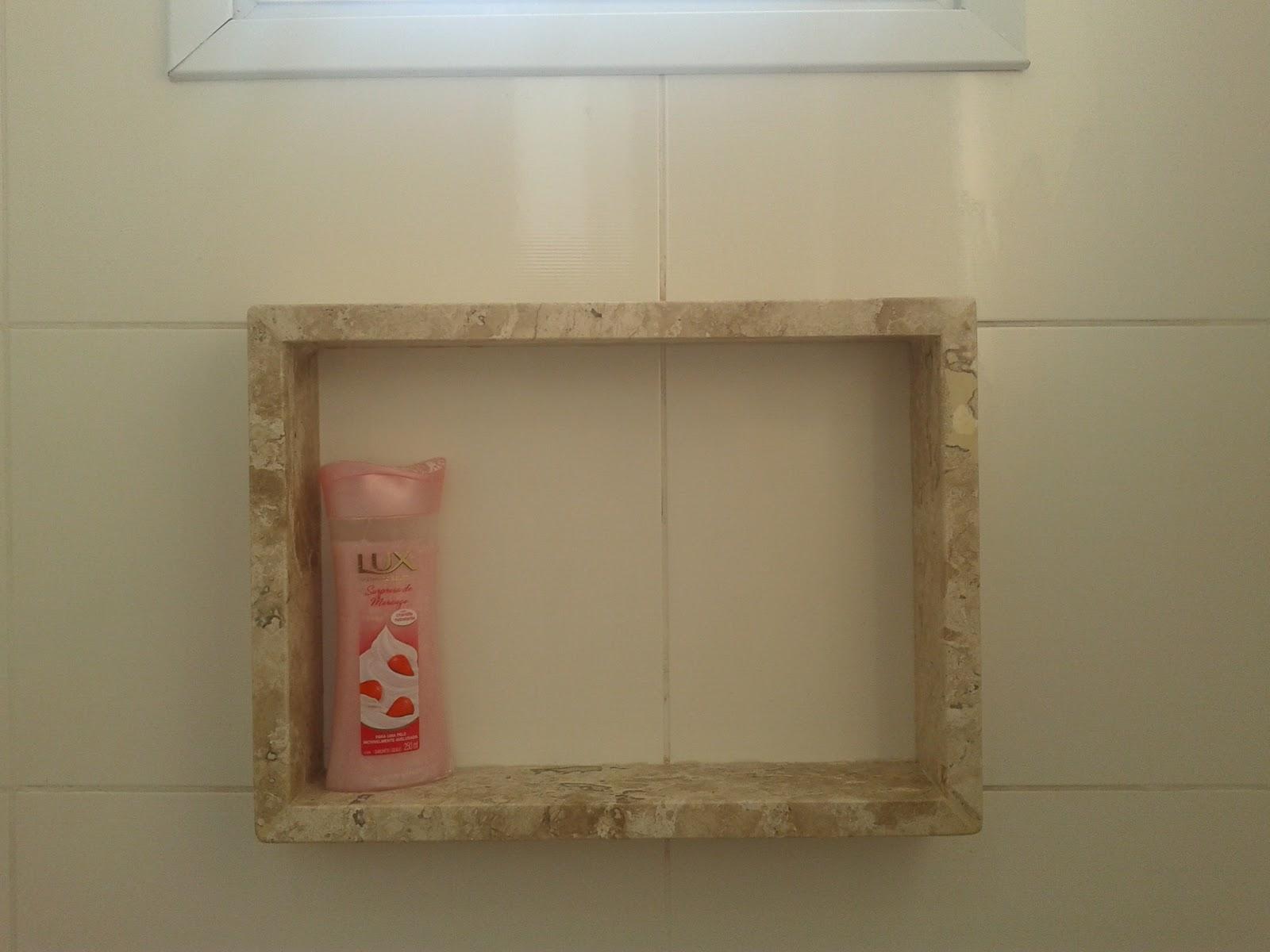 Nichos de banheiro – o que você precisa saber para ter um  se fosse na min -> Nicho De Banheiro Em Granito