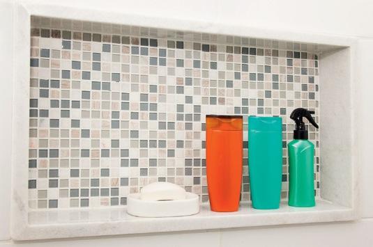 Nichos de banheiro – o que você precisa saber para ter um  se fosse na minha -> Acabamento Do Nicho Do Banheiro