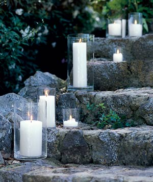 candle-stone-stairs