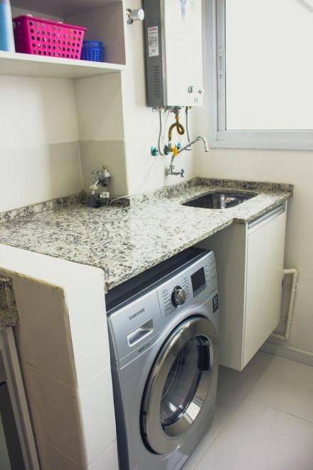 Lavanderia pequena apertada mas lindinha se fosse na for Lavaderos modernos