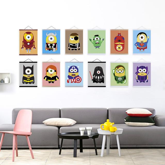 Anime-Super-herói-Minion-Avenger-Pop-filme-A4-Poster-pintura-da-lona-dos-desenhos-animados-imprimir.jpg_640x640.jpg